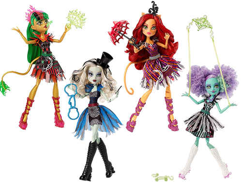 Кукла из серии ШАПИТО MONSTER HIGH