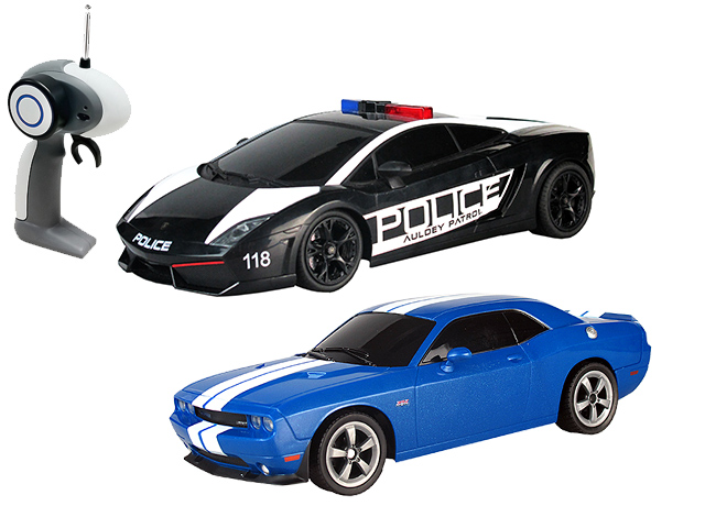 1:16 Police Pack-1:16 Gallardo VS Challenger SRT8 YW299911-4 Машина AUL