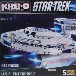 Конструктор Крео Star Trek «USS Enterprise»