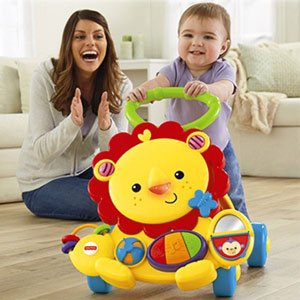 Ходунки Львенок Fisher Price