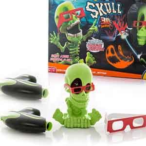 3D Джонни-Черепок с 2-мя бластерами - Johnny the Skull