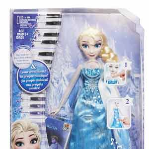 Кукла Эльза в музыкальном платье DISNEY FROZEN HASBRO